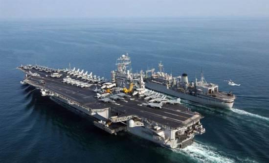 航空母舰(美国)   尼米兹级是目前世界上排水量最大