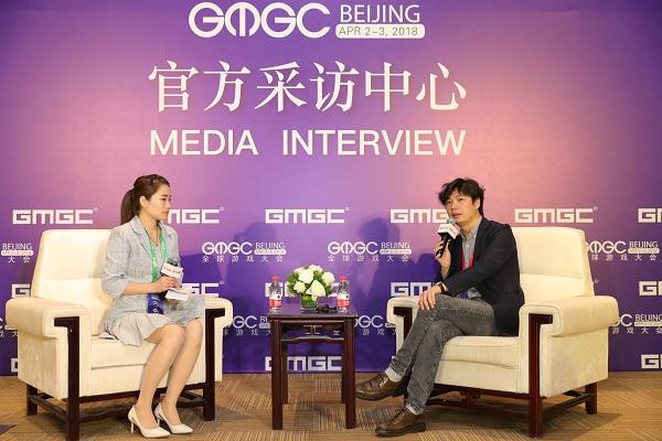 GMGC北京2018|专访盛大游戏副总裁谭雁峰