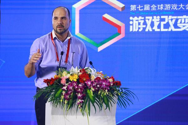 GMGC北京2018演讲|巴林理工大学项目主任Christos Gkatzoulis:巴林大学助力游戏产业落地中东
