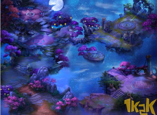 唯美仙侠网页游戏 1k2k《唐门六道》首服千人同屏