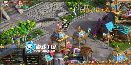 Q萌风暴 游戏王国《梦幻之城BT》再战天空之城