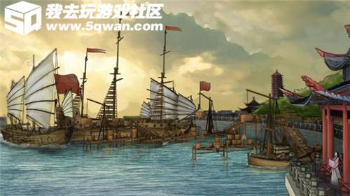 商贸王者养成 我去玩《海洋时代2》新服纵横七海